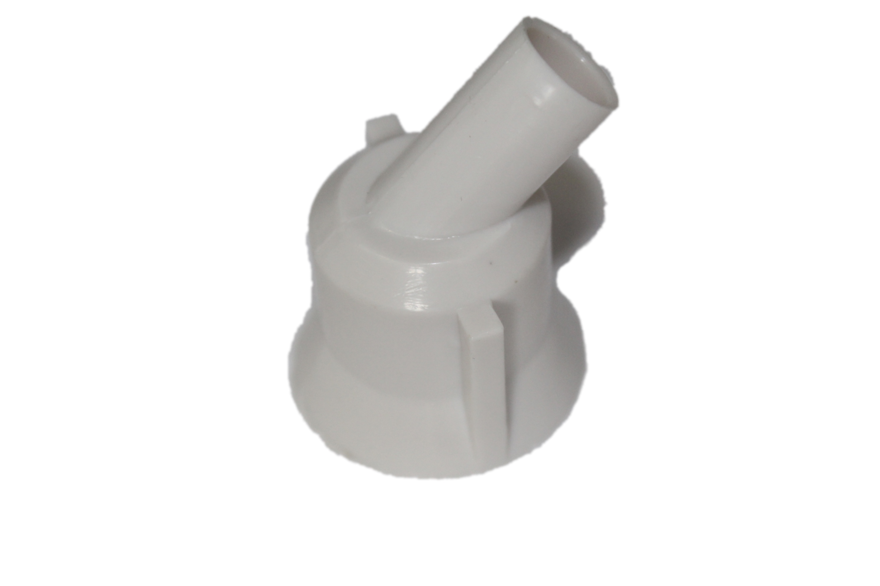 Drain Elbow Plastic With Hex  And Socket title=