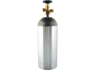 5 lb Aluminum CO2 Cylinder title=