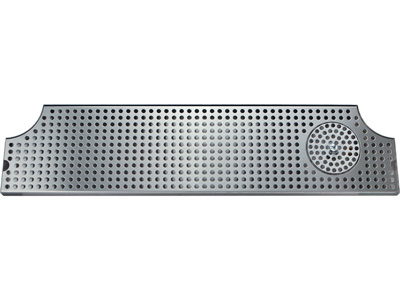 """34""""   Drip tray for Micro Matic Metro H/M Style  with glass rinser"""