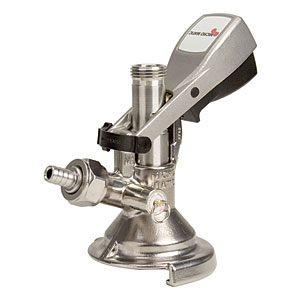 A Style Keg Coupler with Ergonomic Handle title=