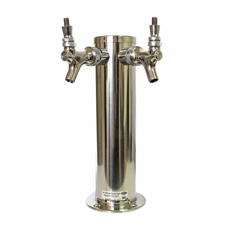 two tap tower, two faucet, Tower, Traditional, three